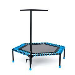 Jumping-Fitness Trampolin - Fit and Jump Compact seitliche Ansicht