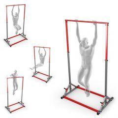 Klimmzugstange freistehend bis 140 kg mit Trainingsdummy